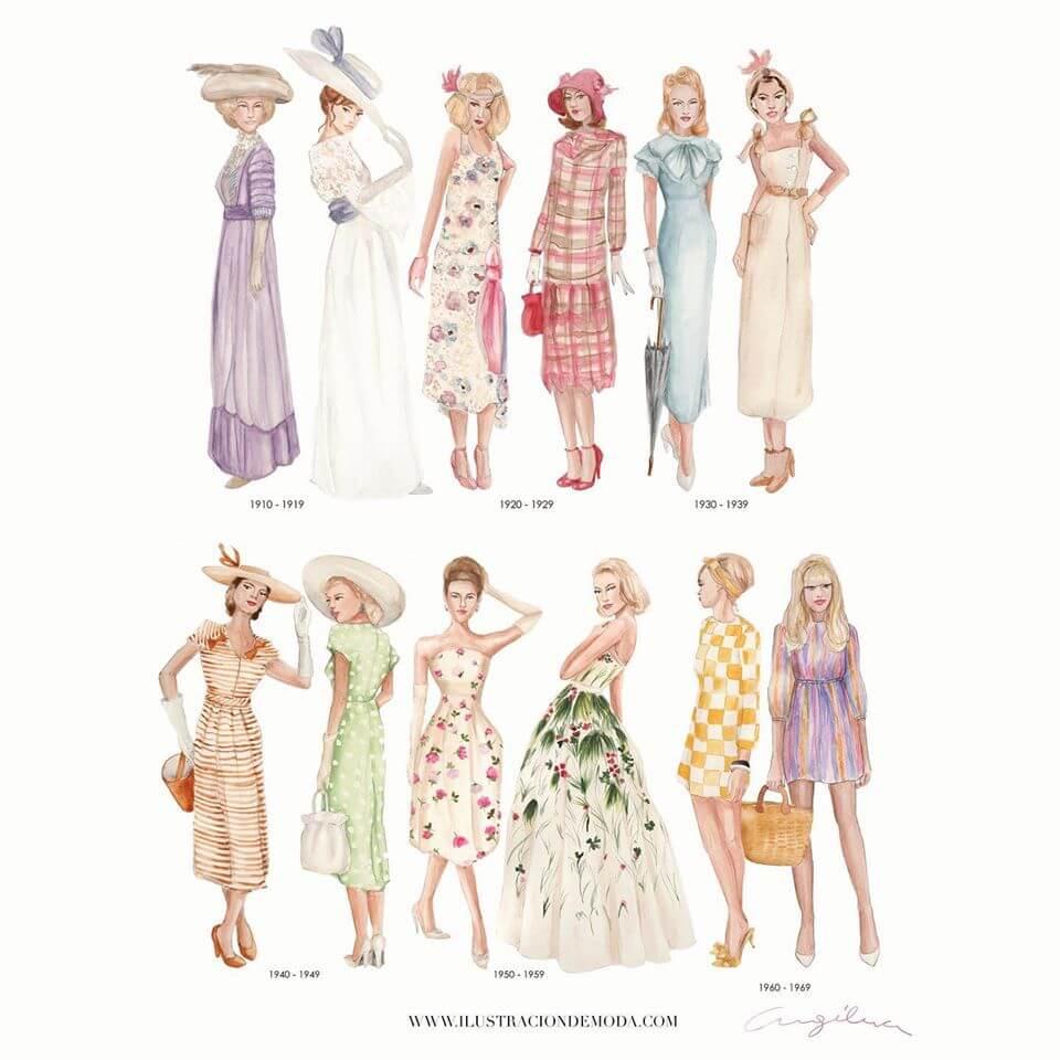 Historia de moda ilustrada